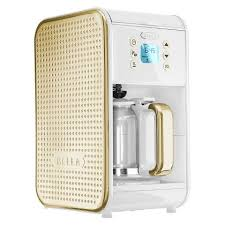 Domoclip coffee maker white / anise white and green domoclip dom163bv. Bella Dots 2 0 Programmable Coffee Maker White Gold Best Coffee Maker Coffee Maker Pod Coffee Makers