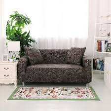 spandex stretch black color sofa cover