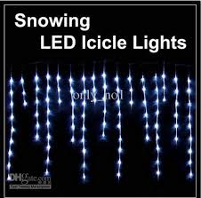 Led Icicle Christmas Lights – Happy Holidays!