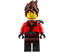 LEGO Set fig-002874 Kai with Hair and Shoulder Armor (LEGO Ninjago Movie)  (2018 Ninjago)   Rebrickable - Build with LEGO