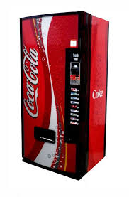 Coke Vending Machine Rental Extraordinary Dixie Narco Model 48E 48oz Can Soda Machine Pepsi Simulated HVV