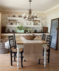 Rustic farmhouse dining room table decor ideas Best 25 How To Use Runners In Traditional Dining Rooms Best Farmhouse Dining Room Set Of 47 Calm And Airy Rustic Designs Digsdigs Dining Room Design Ideas Rustic Farmhouse Dining Rooms Dining Room Design Ideas