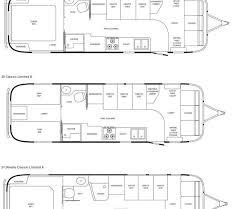 airstream floor plans. Airstream Classic Limited Travel Trailer Floorplans Floor Plans P