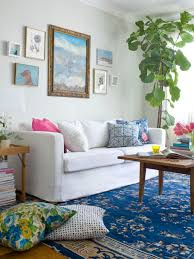 interior, Cool Ocean Themed Contemporary Sitting Space That Using Boho  Design Concept Furnished With Modern