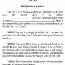 Personal Investment Contract Investor 59852585016 Business