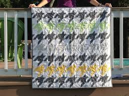 Houndstooth | the green apricot & The crib quilts finished about 40