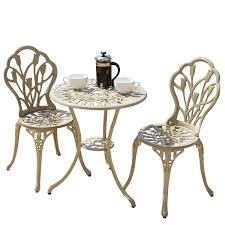 Bistro Round Table 77 Cm Metal Table Outdoor FurnitureBistro Furniture Outdoor