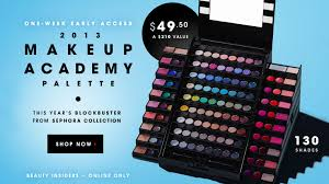 sephora 2016 collection makeup academy palette under 50 shipped huge list of free gift with purchase