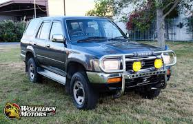 JDM 1992 Toyota Hilux Surf SSR 4WD 2L-TE Turbo Diesel 5-Speed Manual ...