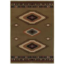 home decorators collection aztec green 7 ft 10 in x 10 ft area