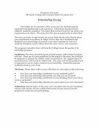 Psychology Internship Autobiographical Essay Sample