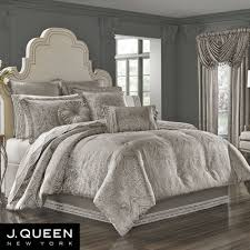 j queen comforter sets within corinna silver bedding by new york designs 3