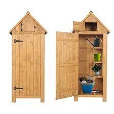 kcelarec outdoor storage shed for