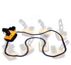 magic car follow line moving pen pull lines construction vehicles kids gift novelties toys random color