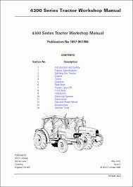 massey ferguson tractors 4300 series