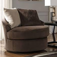swivel accent chair. Dahlen Chocolate Swivel Accent Chair