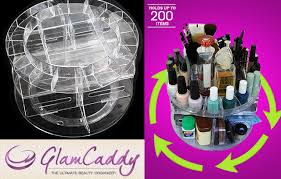 40 off glam caddy rotating cosmetic organizer mydeal lk best