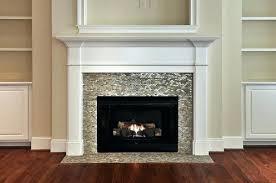 glass fireplace surround gas fireplace glass tile surround rh firstaidbikers co glass tile fireplace surround design