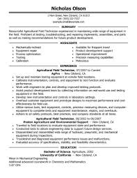 Optical Technician Resume Resume For Study