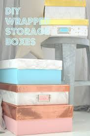 diy decorated storage boxes. DIY Wrapped Storage Boxes Diy Decorated