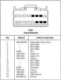 ford premium sound stereo factory wiring diagram ford automotive description jp10f ford premium sound stereo factory wiring diagram