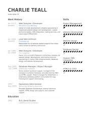 resume web designer   sales   designer   lewesmrsample resume  web developer resume exle designer