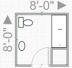 bathroom remodel layout.  Remodel Can I Push Out My Wall To Get An 8x8 Bathroom Leave Me With Only Throughout Bathroom Remodel Layout E