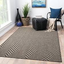 clarion indoor outdoor geometric dark gray cream area rug grey and