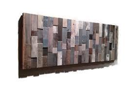 details about handmade barn wood wall art modern abstract artwork unique art rustic decor
