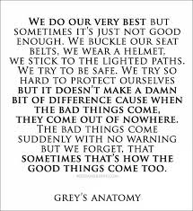 Best Greys Anatomy Quotes Extraordinary 48 Grey's Anatomy Quotes That Remind Us To Never Give Up