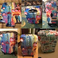 <b>FORUDESIGNS Custom Images</b> Travel Luggage Protective Cover ...