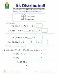 Worksheets, Properties of multiplication and Multiplication on ...Worksheets: Properties of Multiplication: Distributive