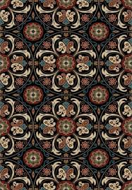 suzani black 2 3x7 3 transitional runner verona area rug collection cgr hall and stair runners by ktm ventures inc