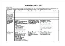 Action Plan Templates Word Excel Free Premium Sample Corrective