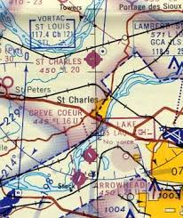 St Louis Sectional Chart Abandoned Little Known Airfields Northeastern Missouri