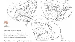 Valentijnsdag Complimenten Kaartjes En Wedstrijd Maple Forest