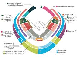 Sixth And I Seating Chart Seat Price Ticket Giants Buy Ticket For Giants Game At