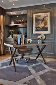 home office space office. Sophisticated Dark Grey Home Office Decor, Luxury, Spaces, Office, Luxury Space T