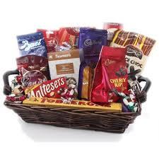 chocolate fun basket