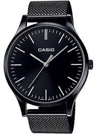 Наручные <b>часы Casio</b> с браслетом миланского плетения ...