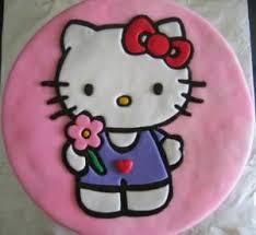 Hello Kitty Cake Parfait