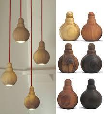 wood pendant lighting. Wooden Bulb Pendant Lamp Wood Lighting P
