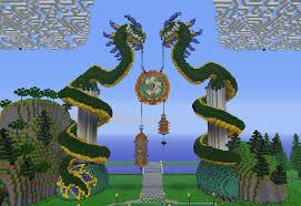 minecraft gate design. Wonderful Gate Extraordinary Minecraft Chinese House Blueprints 15 Dragon Gate  On Home Design With