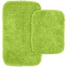 Lime Green Bathroom Rugs Sets