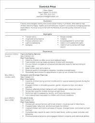 Lvn Resume Sample Resume Samples Resume Examples For Nanny Position