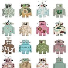 Studio Ditte Robot Behang Flinders Verzendt Gratis