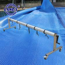 above ground pool solar covers. Swimming Pool Cover Reel- Adjustable Solar Roller For Above Ground And Inground Covers