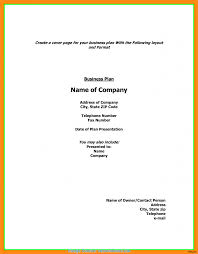 Cover Sheet Resume Template Briliant What Does A Cover Page Of A Business Plan Look Like Fax 44