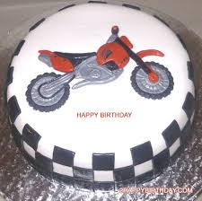 Write Name On Happy Birthday Bike Cake 2happybirthday