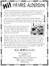 Meet The Teacher Letter Templates Letter To Teacher Template Ceansin Me